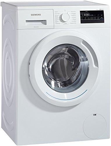 Siemens iQ300 WM14N2A0 Waschmaschine Frontlader / A+++ / 157 kWh/Jahr / 1390 UpM / 7 kg / Großes Display mit Endezeitvorwahl / WaterPerfect / weiß