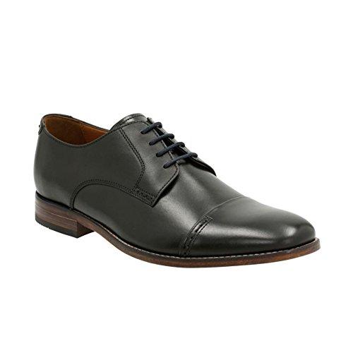 Bostonian Men's Narrate Cap Black Leather Oxford 12 M (D)
