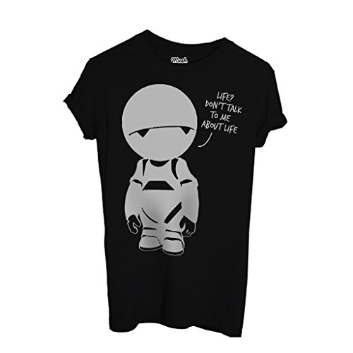 T-Shirt Hitchhiker'S Guide To The Galaxy Marvin Pranoid Android - FILM by Mush Dress Your Style