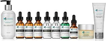 10 Combo Pack Includes EXCLUSIVE SET - Cleanser, Vitamin C+E, Phloretin, C 20%, Resurface, Phyto, B5, Eye, Moisturizer, Masque, Advanced Formula, PROFESSIONAL ANTI-AGING ANTIOXIDANTS, 100% Safe & Effective, No Parabens or Oils