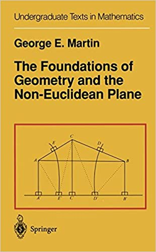 The Foundations of Geometry and the Non-Euclidean Plane ...