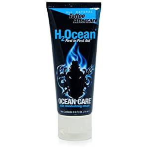 H2ocean aftercare cream tattoo medical for Lotion for tattoo aftercare