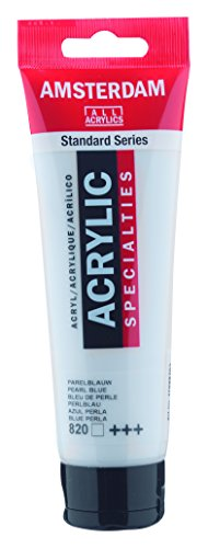 Amsterdam Standard Series Acrylic Paint Pearl Blue 120ml Tube