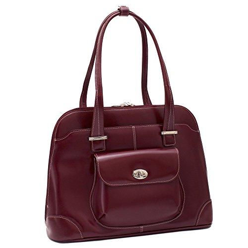 Mcklein USA Avon, Leather Ladies' Laptop Briefcase - 15.4