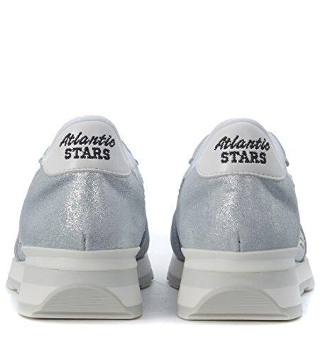 Atlantic Stars Sneakers Vega Lurex und Textil Silber Silber