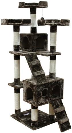 Kitty Mansions Bel Air Cat Tree, Mocha