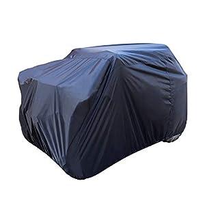 Amazon Basics Weatherproof Standard ATV Cover – 150D Oxford, ATVs up to 102″