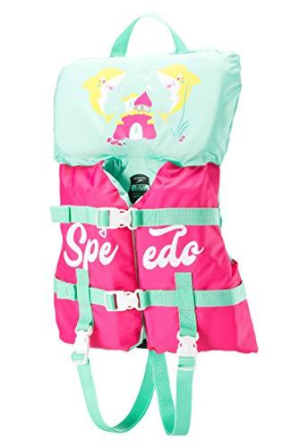 Speedo Infant Life Jacket, Bright Pink, 1SZ