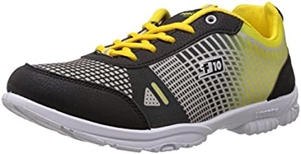 Force 10 (from Liberty) Men's Black Running Shoes - 7 UK