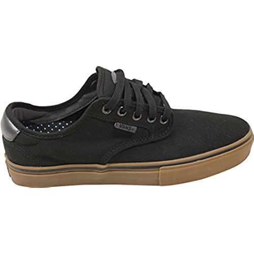 99d3c80b5fb036 Vans Chima Ferguson Pro Black Grey Gum Skateboard Shoes hot sale 2017