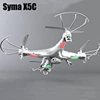 Syma X5C 2.4Ghz 4CH 6-Axis Gyro RC Quadcopter Drone UAV W/ 2MP HD Camera