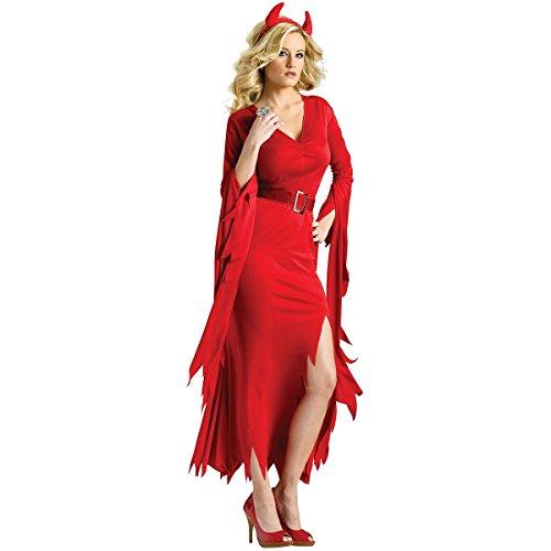 Gothic Devil Costume - Medium/Large - Dress Size (Gothic Devil Costume)