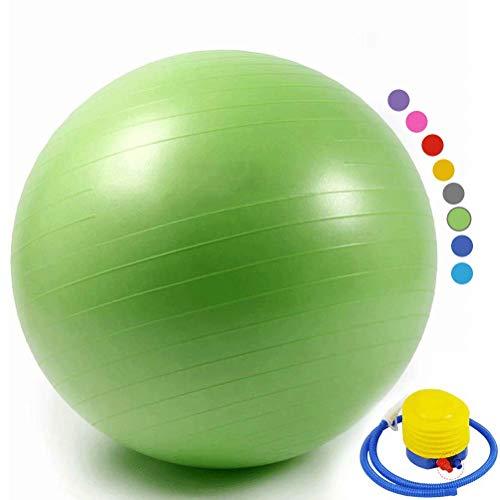 YANGJUNXI Ballon de Fitness-Balle de Gymnastique-Balle de Pilates-Ballon Gym pour l'exercice, Yoga, la Formation de…