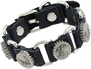 SHOUZ Bracelet Bracelet Bracelet en Cuir Bracelet Bracelet Punk