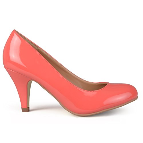 iles Dress Pump, Coral Patent PU, 7 M US (Coral Dress Shoes)
