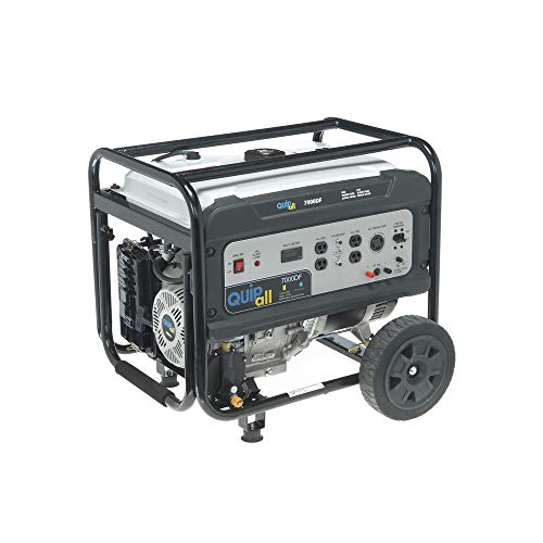 Quipall 7000DF 7000W Dual Fuel Portable Generator (CARB) Uncategorized
