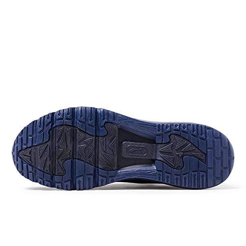 Bleu Casual Sneakers Chaussures Sport Homme Baskets Air de ONEMIX Rouge Fitness ESp6qWvZBc