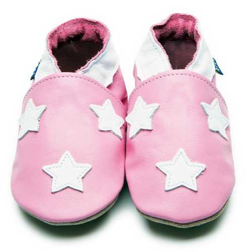 Inch Blue , Chaussures souples pour bébé (fille) Multicolore Marineblau/Weiß M