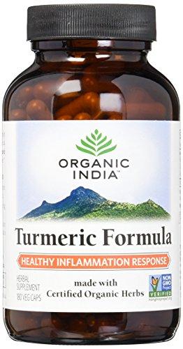 Organic India Turmeric Capsule Supplement product image