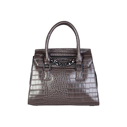 Handbag Laura Biagiotti Genuine Women Designer Brown A8dzww