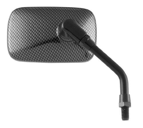 Bikemaster Carbon Fiber - BikeMaster Universal Mini Mirror (Carbon Fiber)