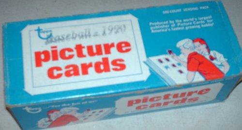 1990 Topps Baseball Card Vending Box 1990 Topps Baseball Card