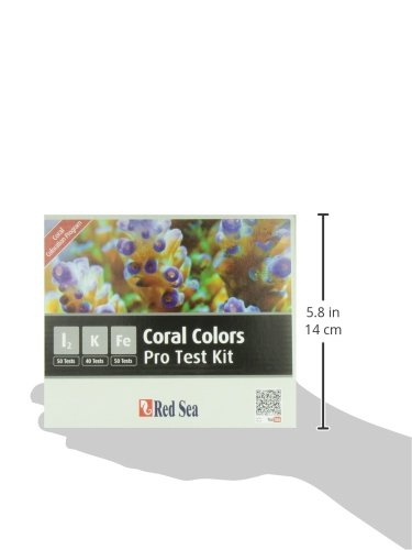 Red Sea Fish Pharm ARE21515 Saltwater Reef Color Pro Multi Test Kit for Aquarium by Red Sea