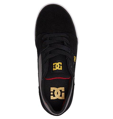 DC Boys' Tonik Low-Top Sneakers, 410 Black/Grey/Red