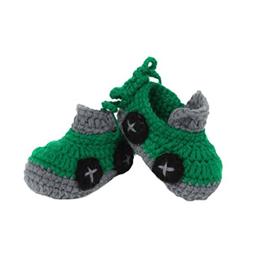 b1cfa4d9b DZT1968(TM) Infant Shoes Crib Crochet Casual Baby Handmade Knit Sock ...