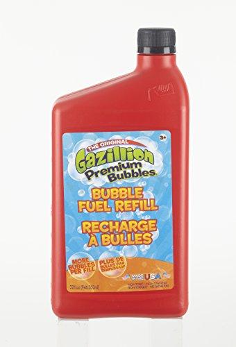 Gazillion Bubbles 32oz Bubble Fuel Refill by Play Day (Gazillion Machine Bubbles)
