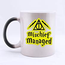 Funny mischief managed Coffee Mug, Custom Harry Potter Coffee Mugs