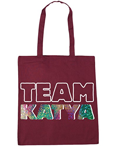 x38cm Beach Gym Burgundy HippoWarehouse Team katya litres Tote Shopping Bag 42cm 10 pwIw8TXq6B