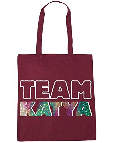 Bag 42cm x38cm 10 Team Beach katya Burgundy HippoWarehouse Tote Shopping Gym litres xW0RYqHxw