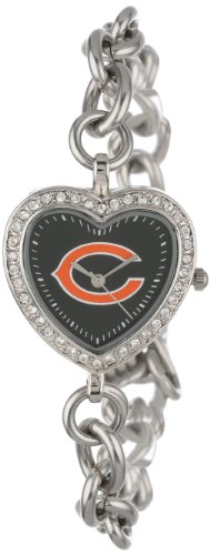 NFL Women's NFL-HEA-CHI Heart Collection Chicago Bears Watch