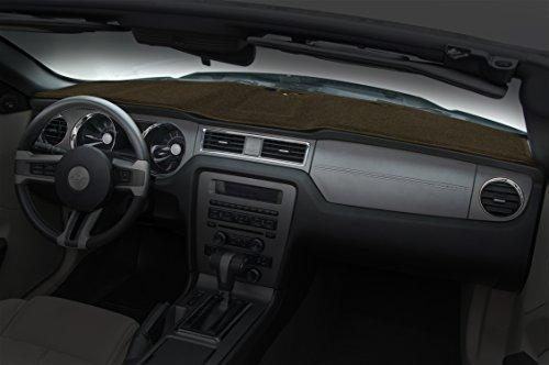 Coverking Custom Fit Dashboard Cover for Select GMC Yukon Denali - Polycarpet (Brown)
