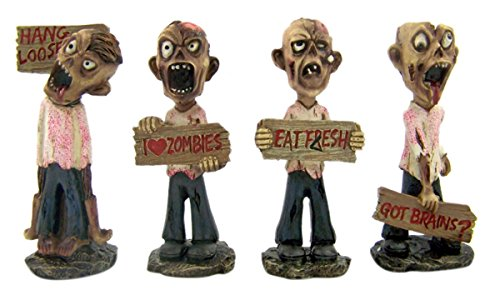 zombie resin statue - 3