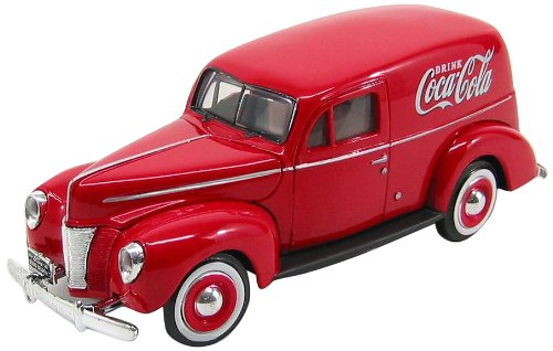 1940 Ford Panel (Motor City Classics 1940 Ford Delivery Panel Van (1:24 Scale), Red)