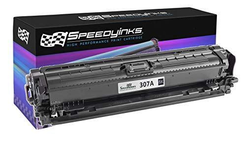 Speedy Inks Remanufactured Toner Cartridge Replacement for HP 307A /CE740A (Black)