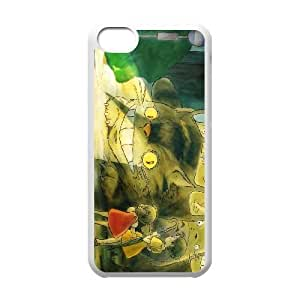 iphone5c White phone case Mei and the Kittenbus IKL3047936