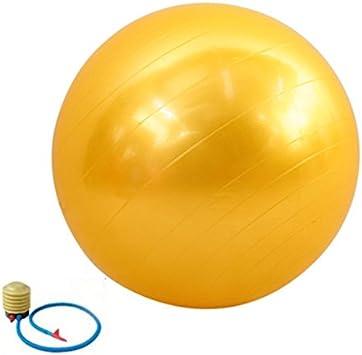 QUBABOBO Pelota de Yoga PVC Anti-ráfaga Ejercicio Fitness Workout ...