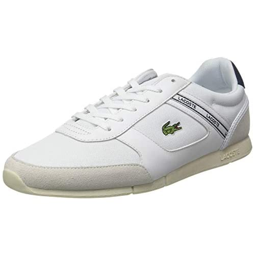 chollos oferta descuentos barato Lacoste MENERVA Sport 0120 1 CMA Zapatillas Hombre Blanc Wht Lt Gry 40 EU