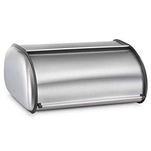 Polder 216204 Deluxe Bread Bin, Stainless Steel, 17