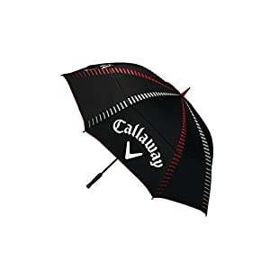 "Callaway Golf Tour Authentic 68"" Umbrella Umbrellas 2017 Tour Authentic 68"" Double Canopy Automatic Black"