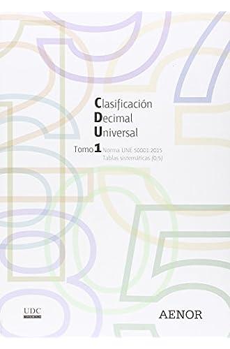 Clasificación Decimal Universal : Norma Une 50001:2015