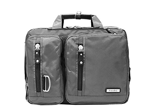 Bronze Times (TM) 15.6 Inch Business Travel Gear Laptop Shoulder Bag Backpack - Roller Expandable Executive