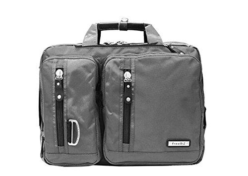 Bronze Times (TM) 15.6 Inch Business Travel Gear Laptop Shoulder Bag Backpack - Roller Expandable Executive