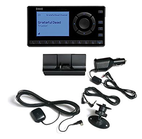 Vehicle Car Kit - SiriusXM- XEZ1V1 Onyx EZ Satellite Radio with Vehicle Kit- Black