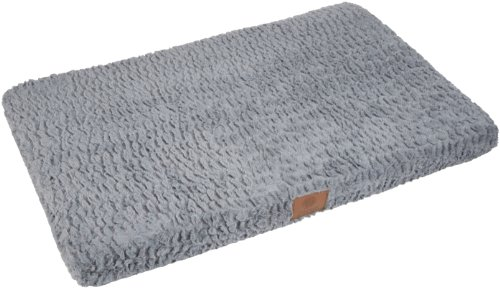 - American Kennel Club Orthopedic Crate Mat, 23 by 36-Inch, Gray