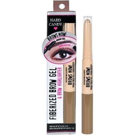 Hard Candy Brows Now Fiberized Brow Gel & Brow Highlighter, # 849 Light /Medium