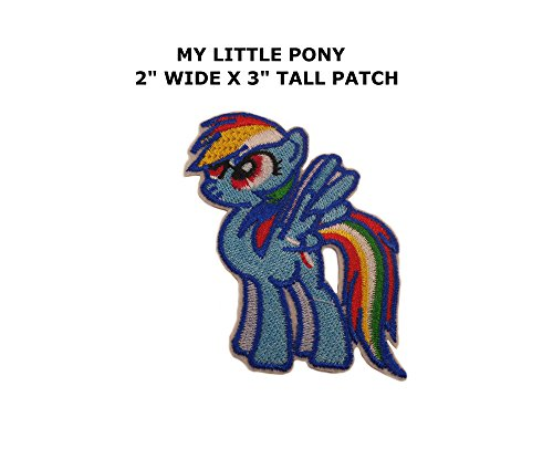 Application My Little Pony Rainbow Dash Embroidered Patch By (Easy My Little Pony Adult Costumes)